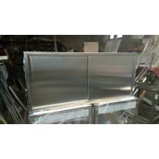 INOX viseći element zatvoreni 1500x400x600mm